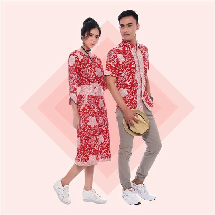 batik couple jubah