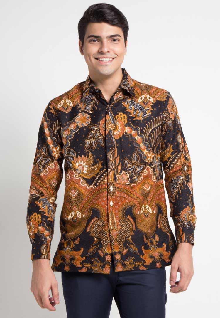 30+ Model Baju Batik Pria (GAUL, KOMBINASI, POLOS, MODERN)
