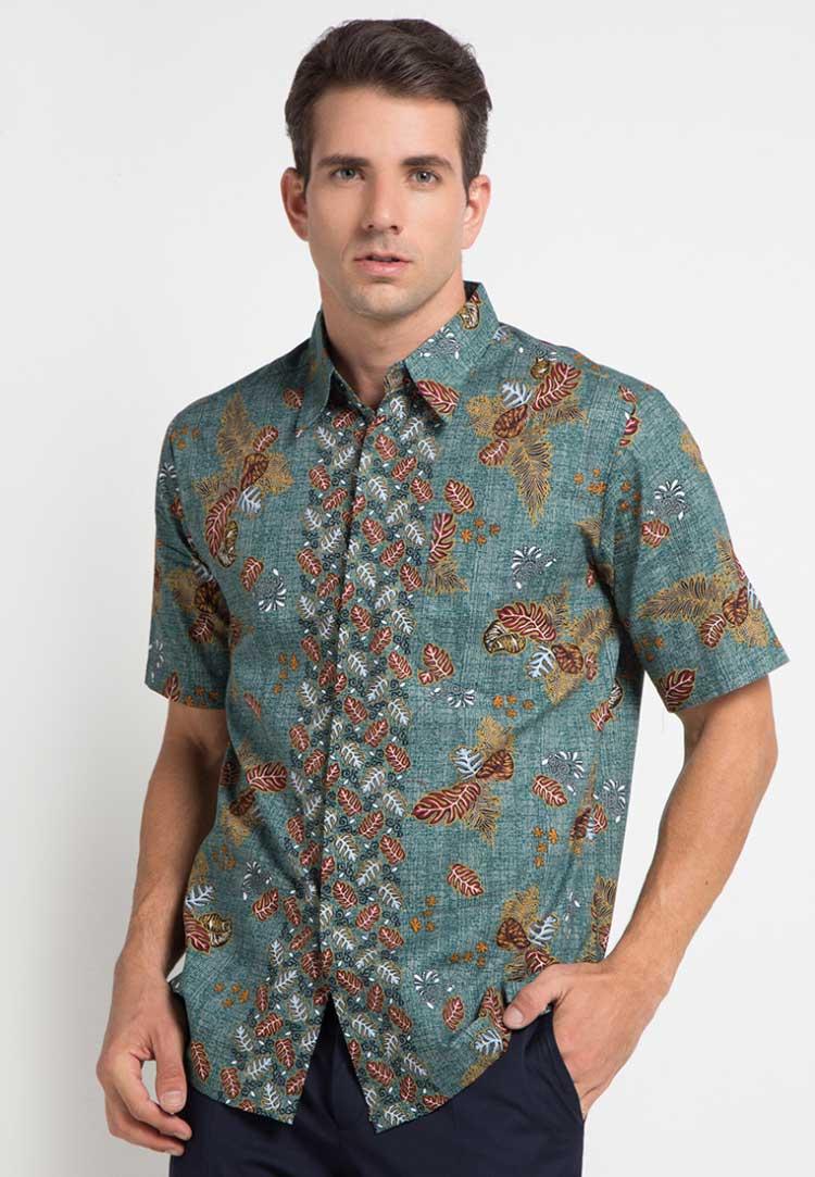 model baju batik pria 2017