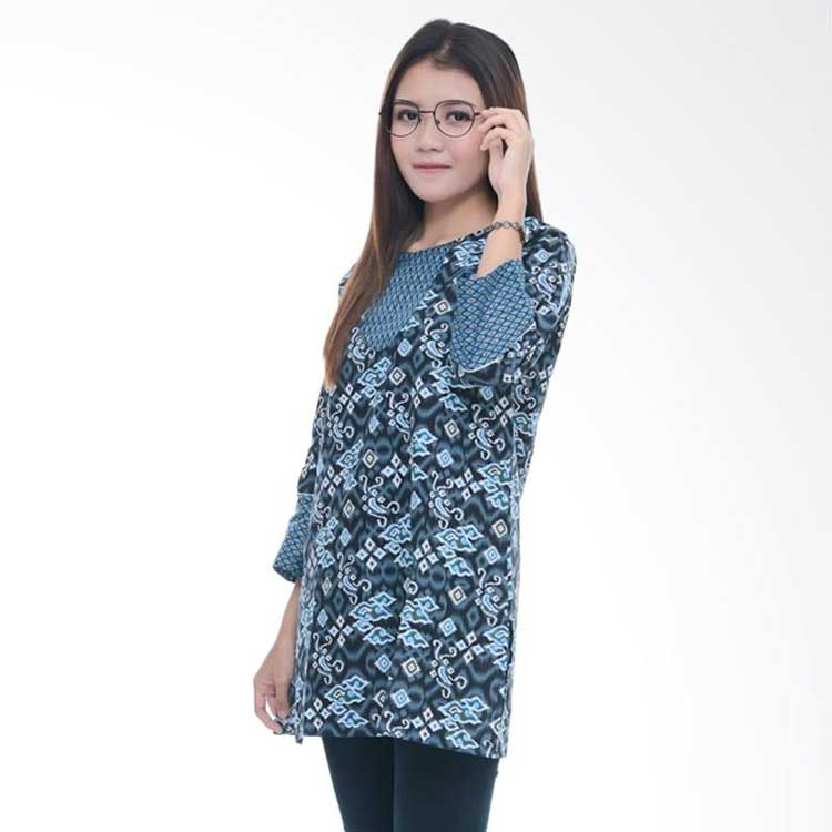 model tunik batik wanita
