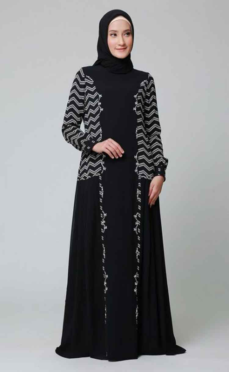 √ 30+ Model Gamis Balotelli Kombinasi db46316fd3