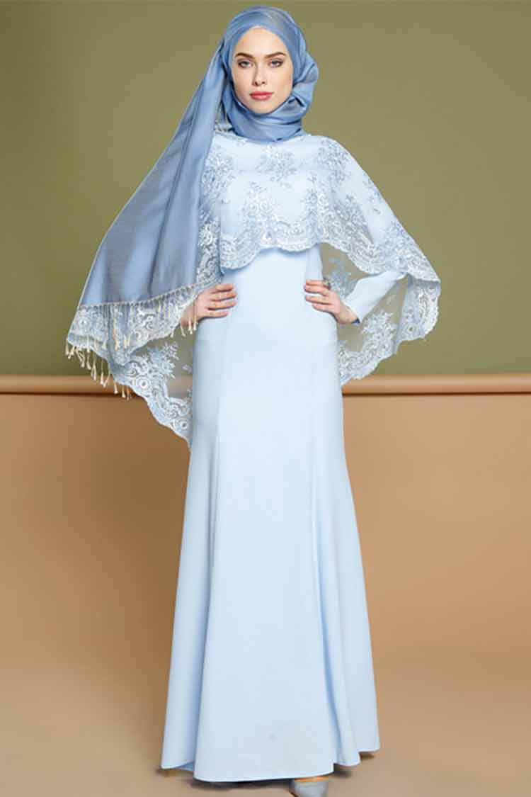 30 Model Dress Kebaya Modern Muslim Pesta Terbaru 2019