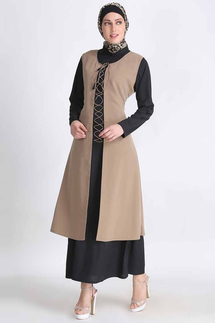 gamis polos anak perempuan