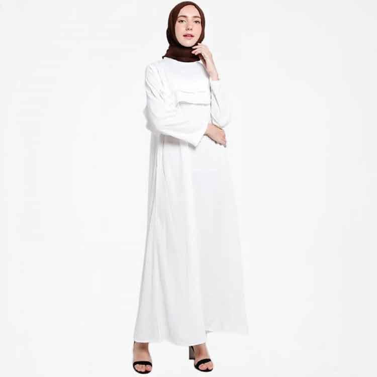 fashion gamis putih