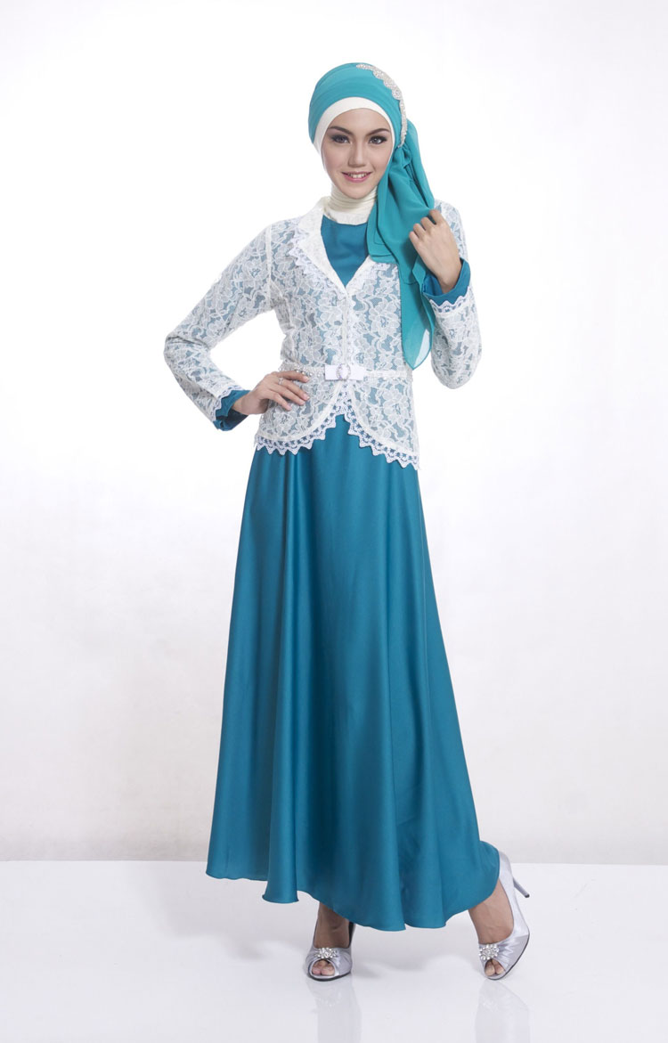 kebaya brokat modern simple