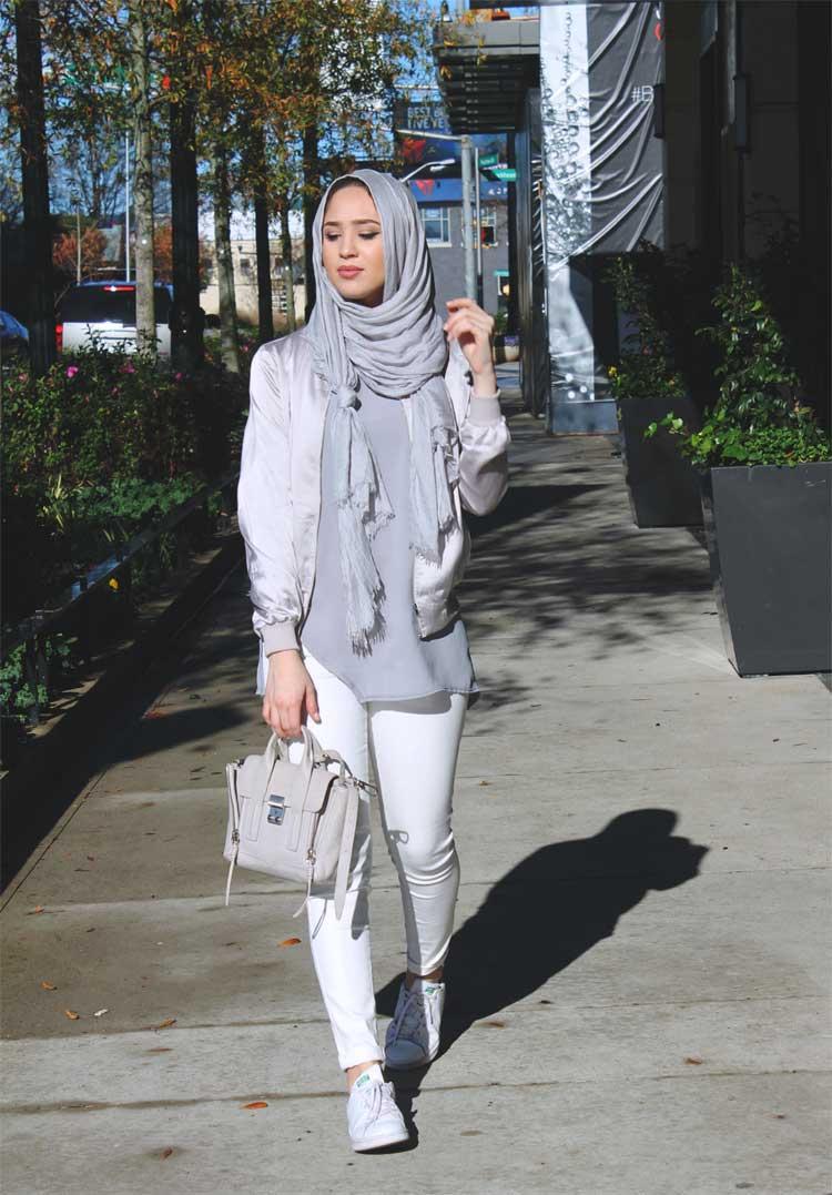 fashion hijab kemeja