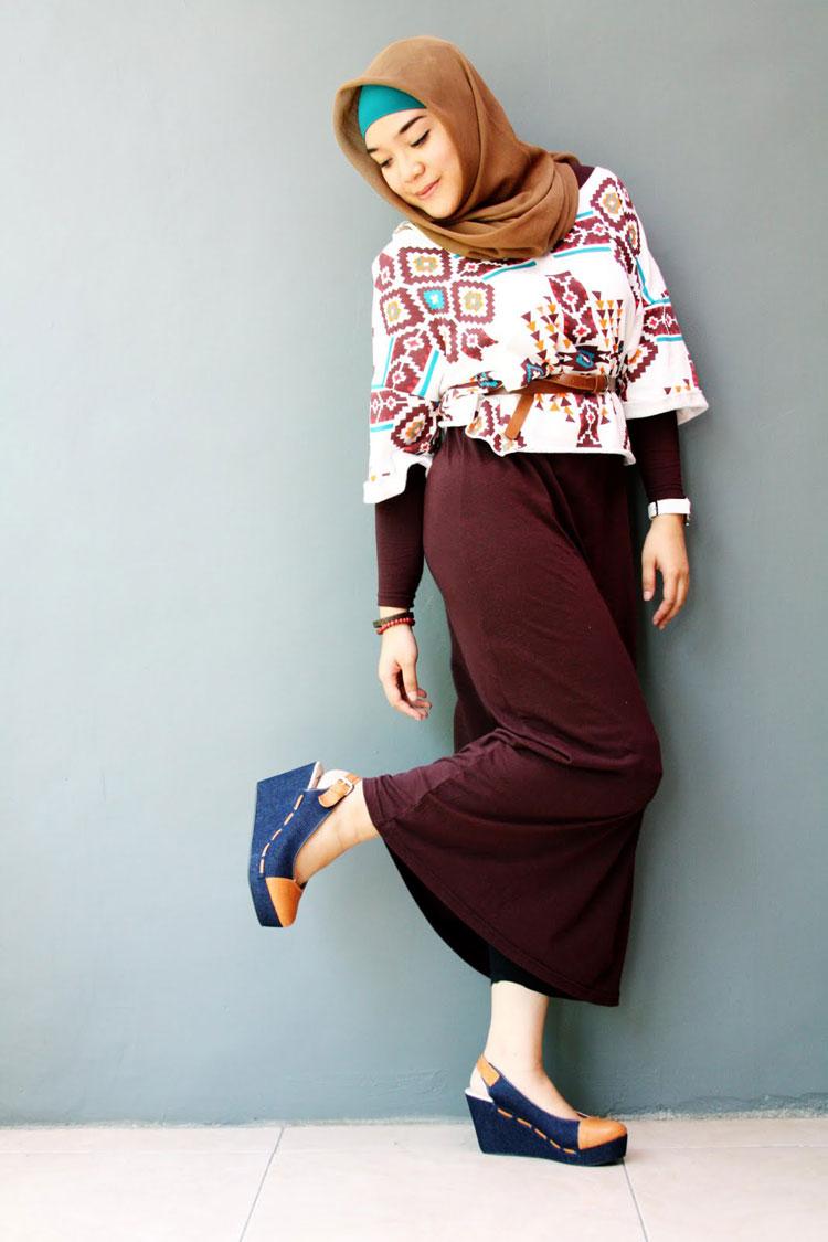 hijab style cartoon