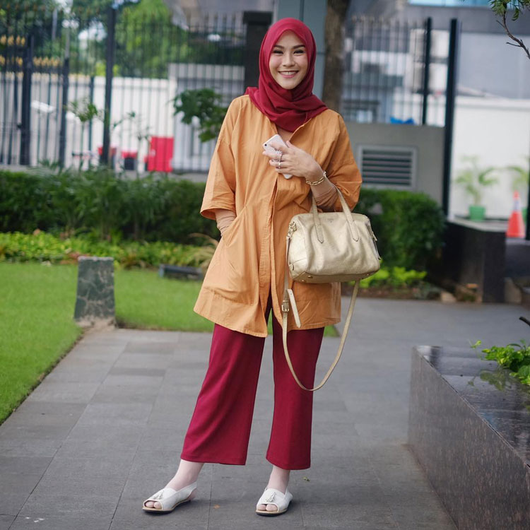 hijab style casual 2017