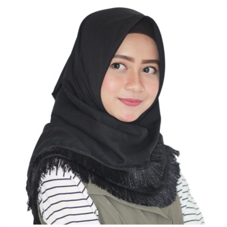 model hijab casual 2018