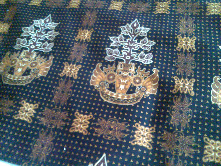 batik kalimantan background