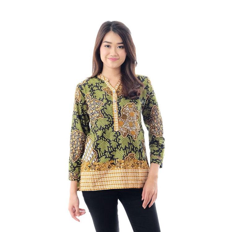 Baju Lengan Panjang Wanita Modern - Kumpulan Model Kemeja