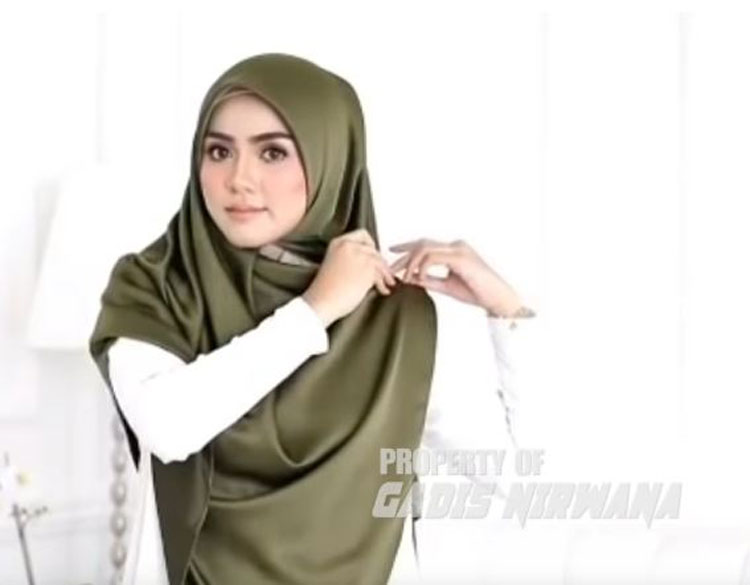 youtube tutorial hijab kebaya