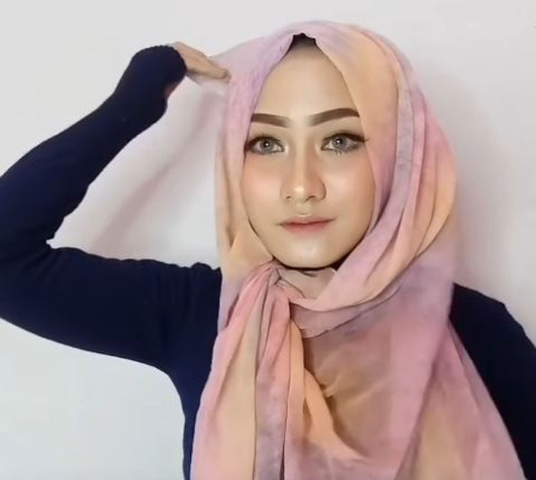 tutorial hijab paris lilit