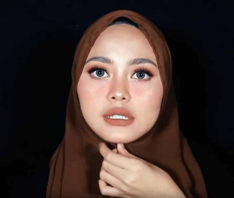 video tutorial hijab pashmina untuk pesta