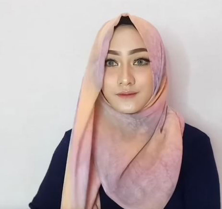 tutorial hijab paris kekinian