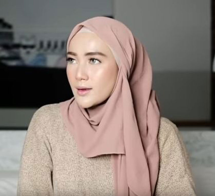 youtube tutorial hijab segi empat