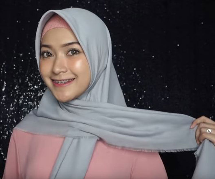 hijab tutorial everyday simple hijab