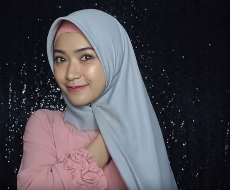 tutorial hijab simple untuk fashion show