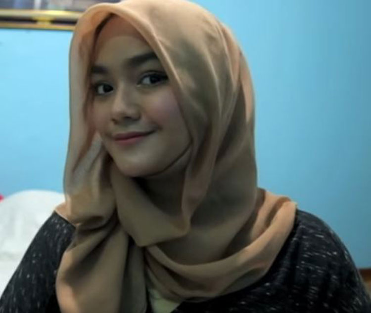 tutorial hijab simple dan bagus