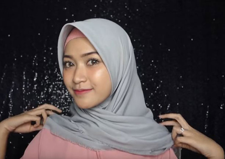 tutorial hijab simple jaman now