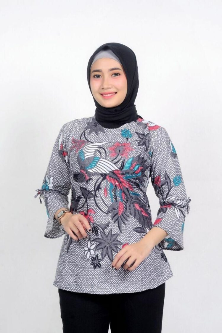 blouse batik indonesia