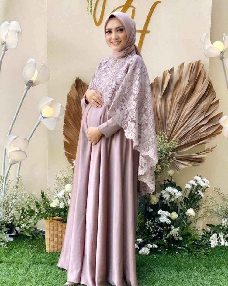 model kebaya modern simple hijab