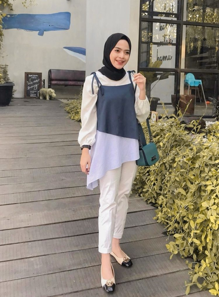 chic elegant hijab