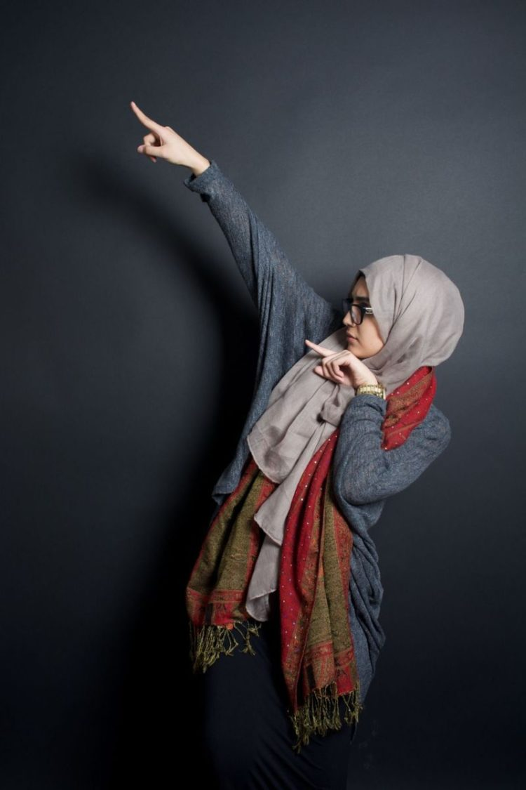 hijab chic with photography