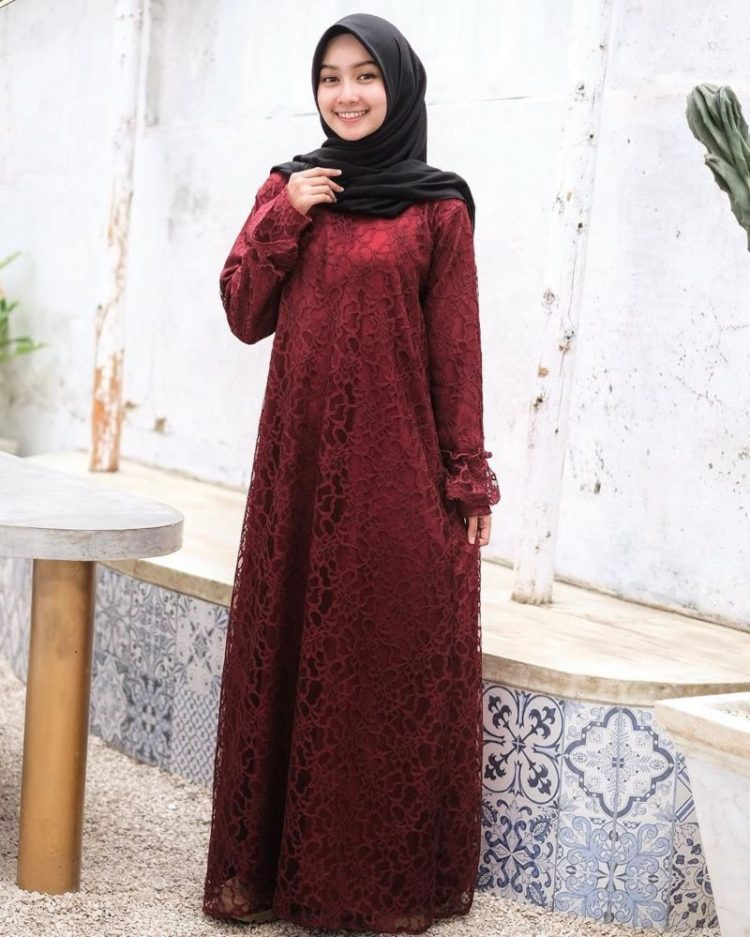 fashion kebaya modern hijab