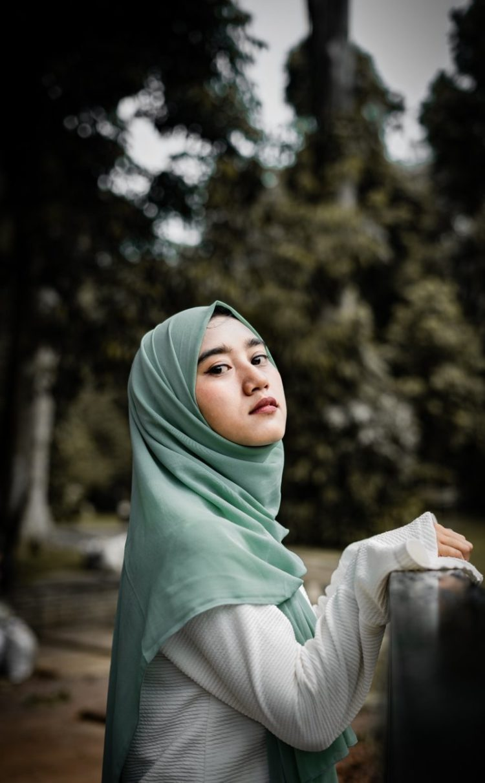 hijab style photography