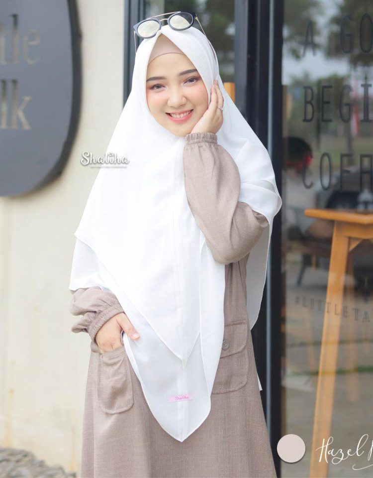 choco dress shaliha hijab