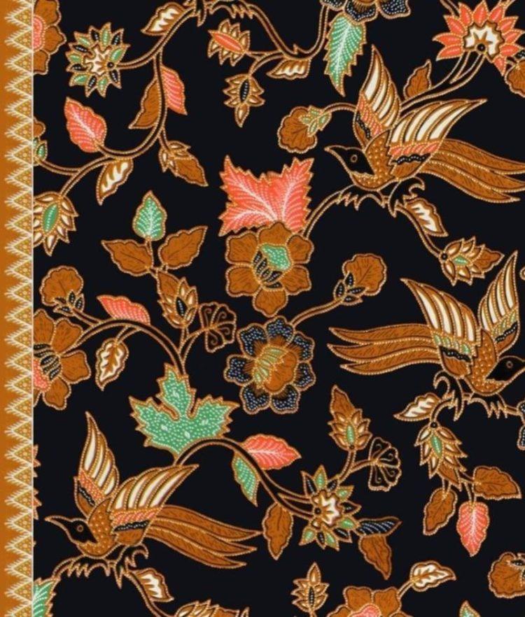 30+ Motif Batik Flora (GAMBAR, CONTOH, RAGAM, DESAIN)