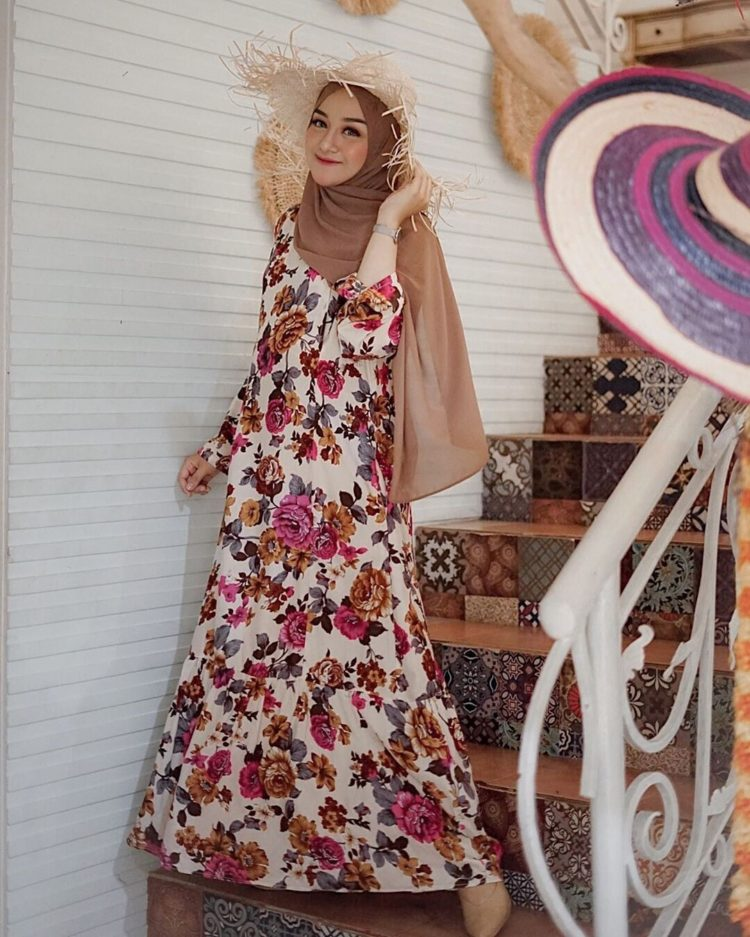 long dress batik jogja
