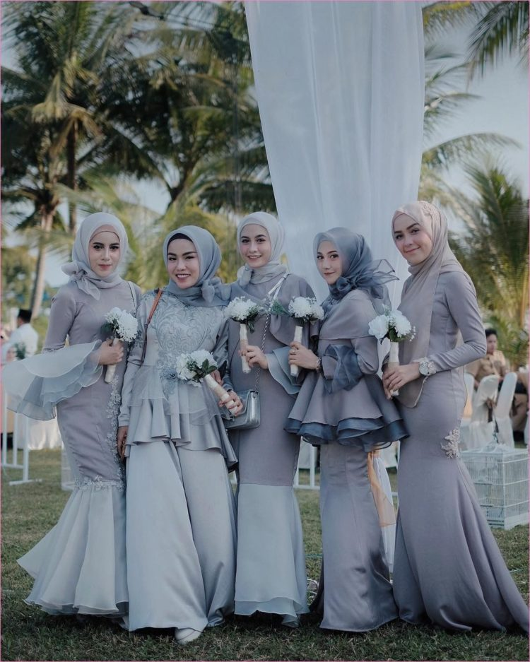 kebaya bridesmaid pinterest