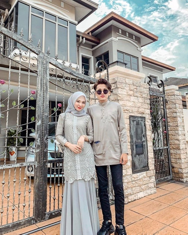 couple kebaya family
