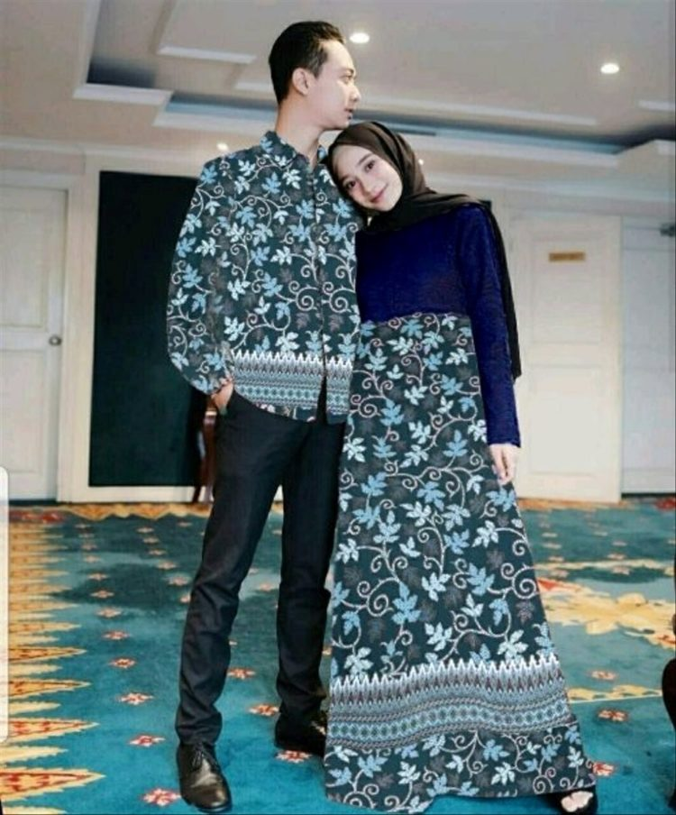 kebaya couple warna gold