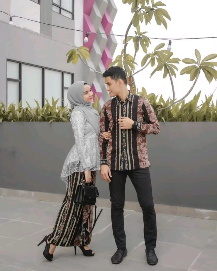 model kebaya gamis couple