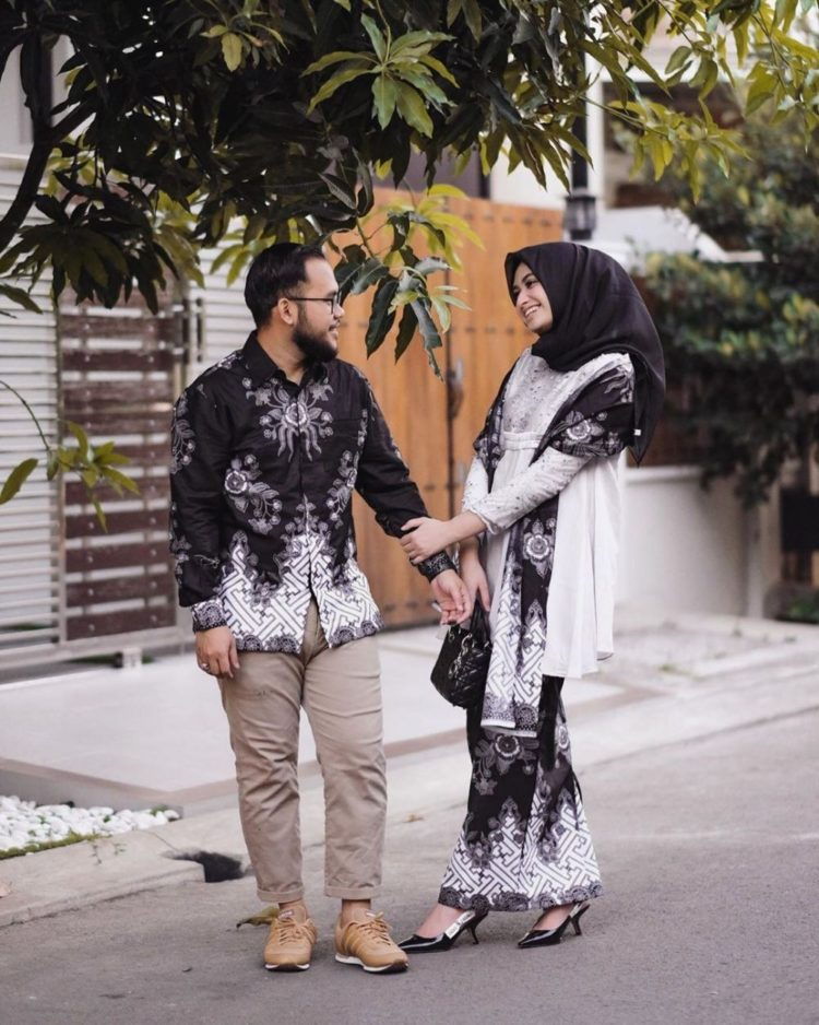 kebaya couple hijab