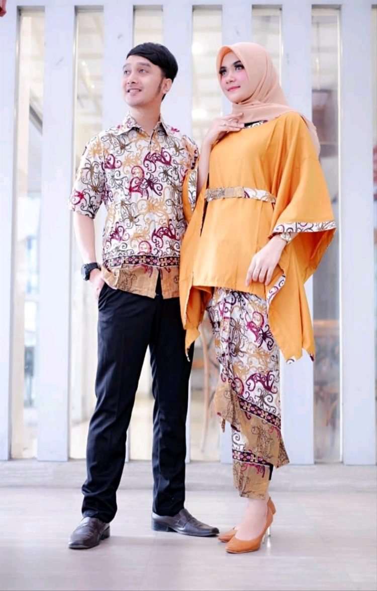 kebaya modern hijab couple