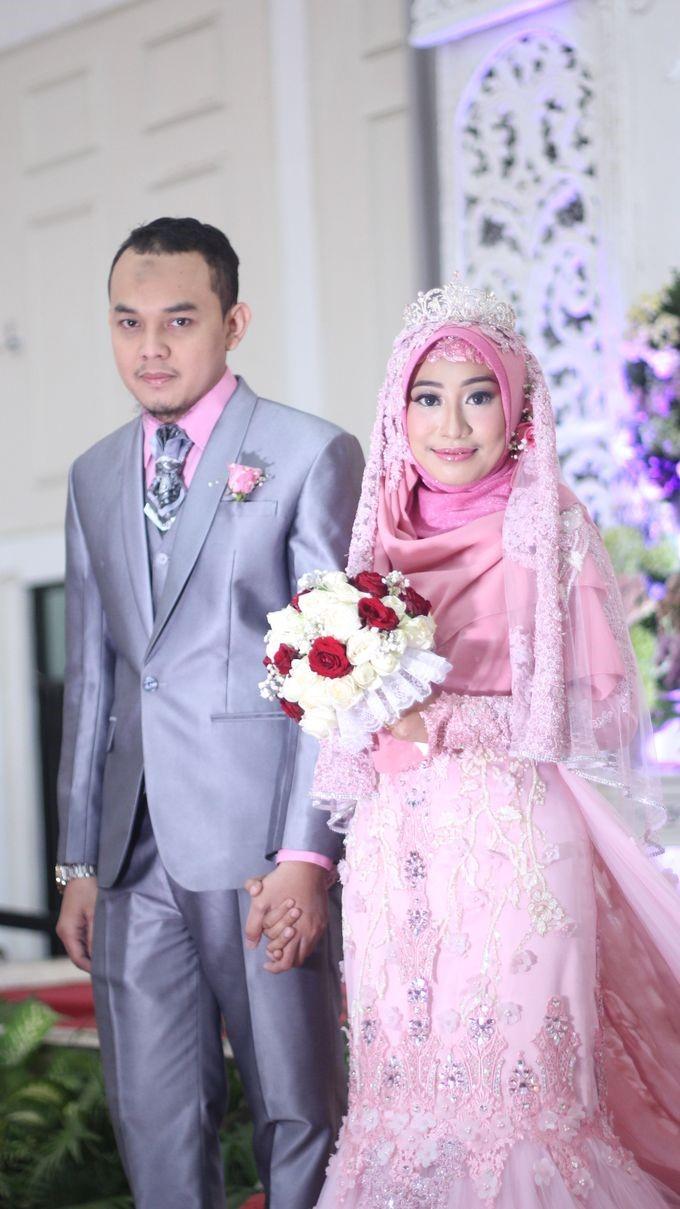 kebaya pink fanta hijab