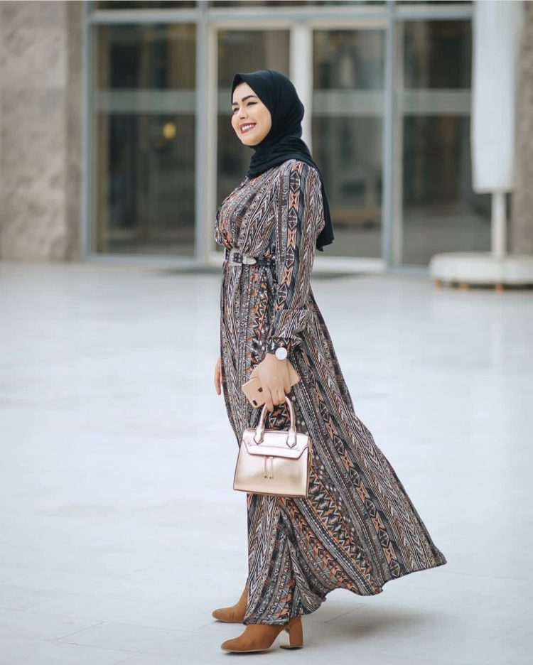 image long dress batik
