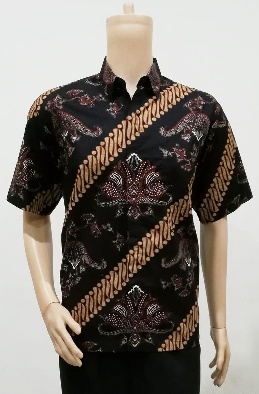 baju batik coklat kerudungnya warna apa