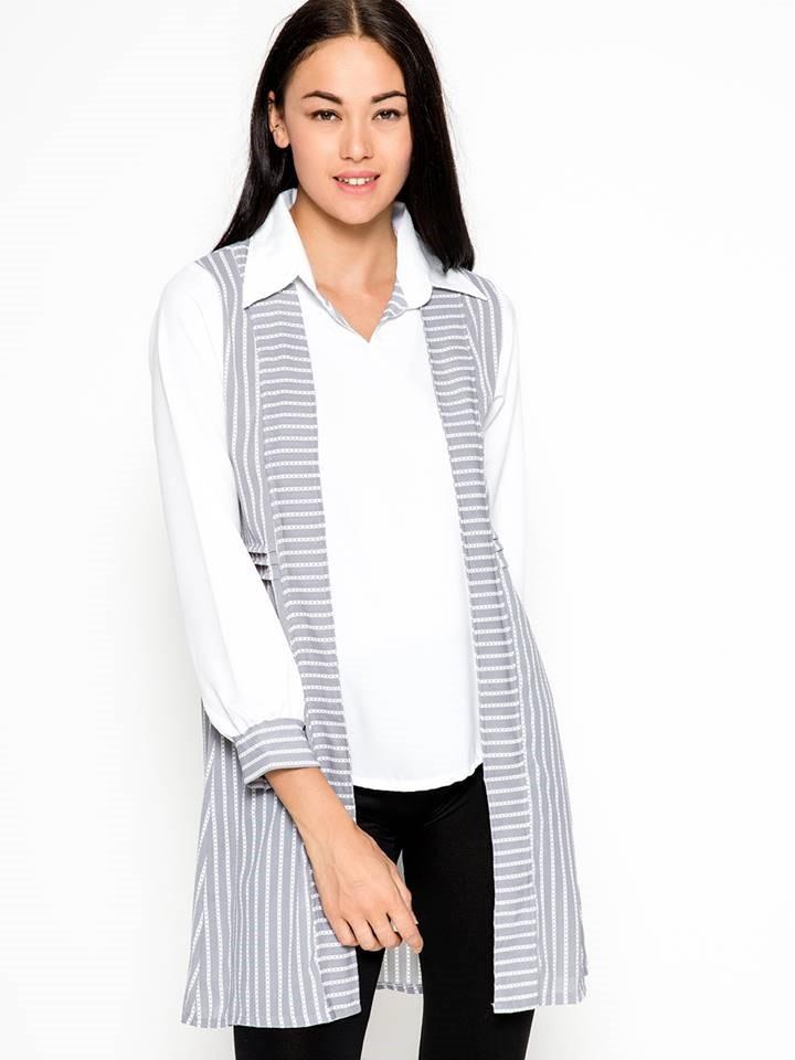 blouse putih kerja